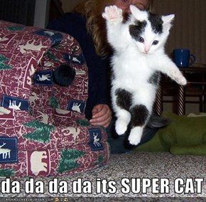 da da da da its SUPER CAT