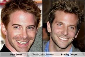 Seth Green  Totally Looks Like Bradley Cooper