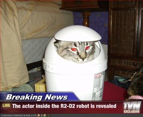 Breaking News - The actor inside the R2-D2 robot is revealed
