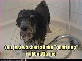 it's down the drain