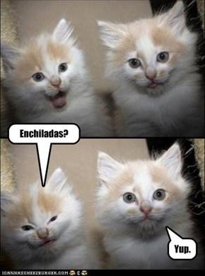 Enchiladas?
