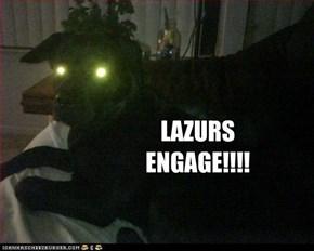 LAZURS ENGAGE!!!!