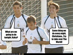 What are we going to do tonight, Kaka?