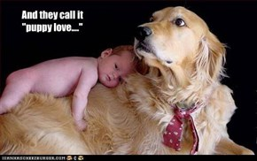 "And they call it ""puppy love...."""