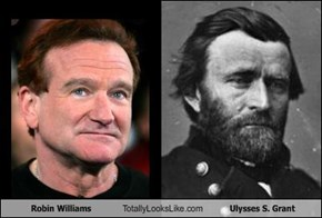 Robin Williams Totally Looks Like Ulysses S. Grant