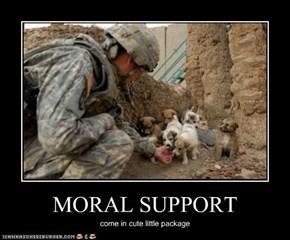 MORAL SUPPORT