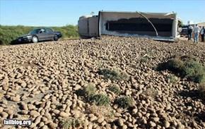 Potato Transportation Fail