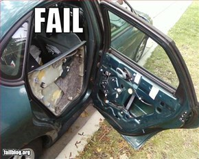 Car Door Fail