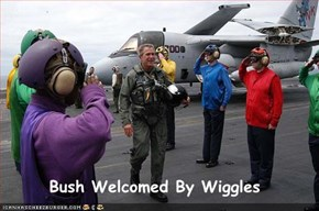 Bush Welcomed By Wiggles