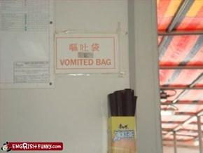 I'll never be eating bag again...