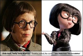 "Linda Hunt, 'Hetty' from NCIS:LA Totally Looks Like Edna Mode from ""The Incrediblles"""