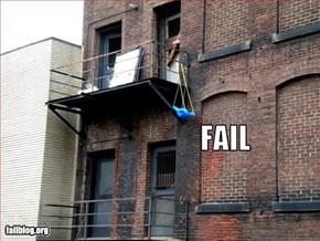 Child Swing Fail