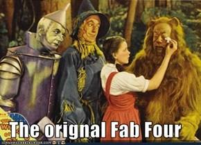 The orignal Fab Four