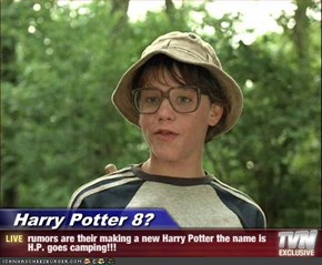 Harry Potter 8? - rumors are their making a new Harry Potter the name is H.P. goes camping!!!