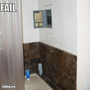 Electrical Panel Location Fail