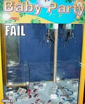 Toy Crane Fail