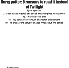 Harry potter: 5 reasons to read it instead of Twilight