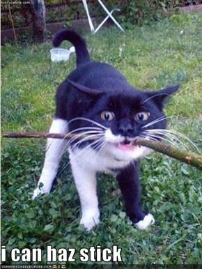 i can haz stick