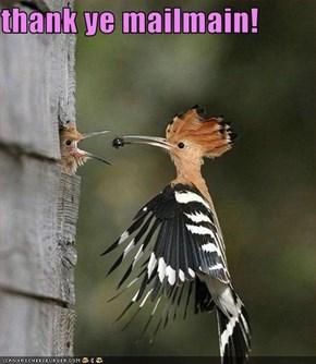 thank ye mailmain!