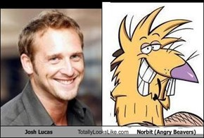 Josh Lucas Totally Looks Like Norbit (Angry Beavers)