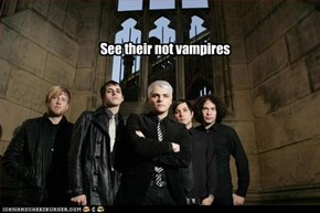 See their not vampires