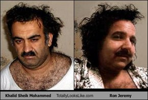 Khalid Sheik Mohammed Totally Looks Like Ron Jeremy