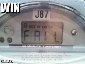 Parking Meter Win
