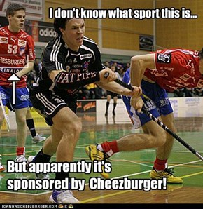 I don't know what sport this is...