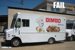 Here comes the Fail Van!