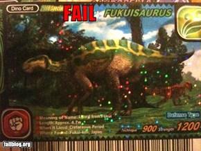Dinosaur Name Fail