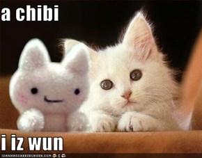 a chibi  i iz wun