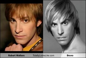 Robert Walters Totally Looks Like Bruno