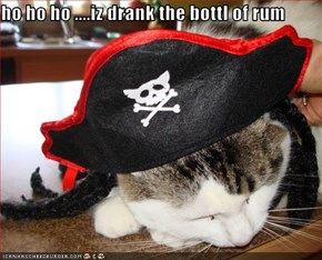 ho ho ho ....iz drank the bottl of rum