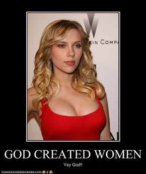 GOD CREATED WOMEN