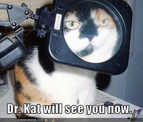 Dr. Kat will see you now.