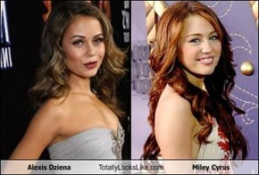 Alexis Dziena Totally Looks Like Miley Cyrus