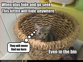 When play hide and go seek
