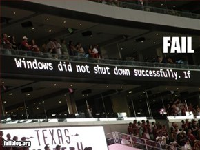 Texas Stadium Fail