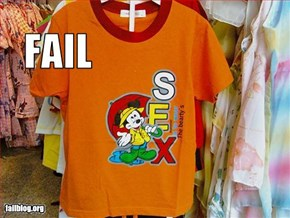 Kid's T-Shirt Fail
