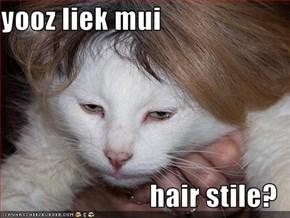yooz liek mui  hair stile?