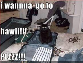 i wannna  go to hawii!!! PLZZZ!!!