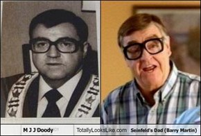 M J J Doody Totally Looks Like Seinfeld's Dad (Barry Martin)