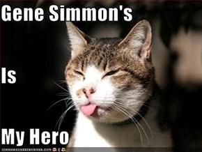 Gene Simmon's  Is My Hero
