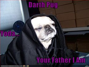 Darth Pug Yoda... Your Father I Am