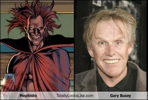 Mephisto Totally Looks Like Gary Busey