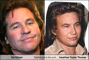Val Kilmer Totally Looks Like Jonathan Taylor Thomas