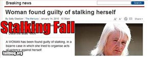 Stalking Fail