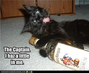The Captain. I haz a little in me.