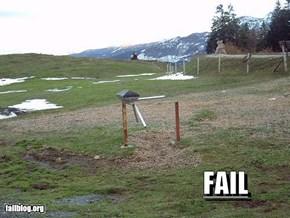Gate fail