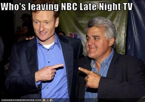 Who's leaving NBC Late Night TV